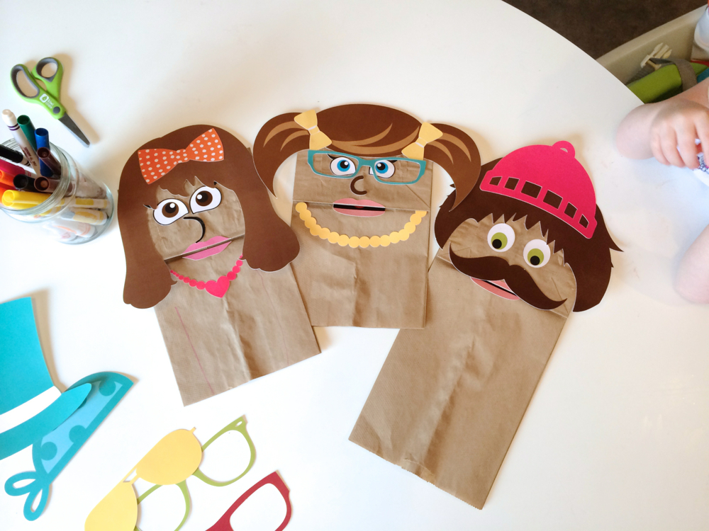 Paper Bag Puppets The Caterpillar Years