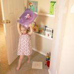 DIY Space Saver Bookshelf