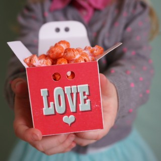 Colorful Valentines Day Kettle Corn - 07