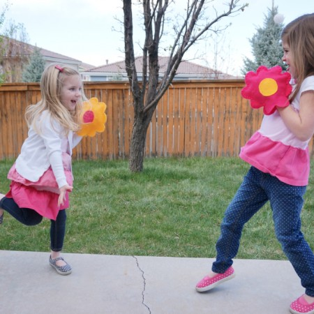 Velcro Ball Toss Flowers - 11